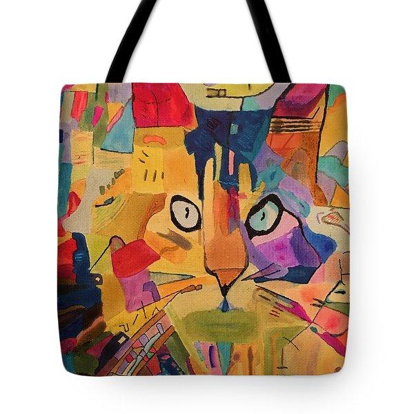 Calico Cat Cali Tote Bag