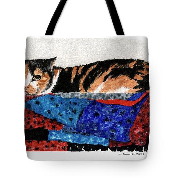 Calico Cutie Tote Bag