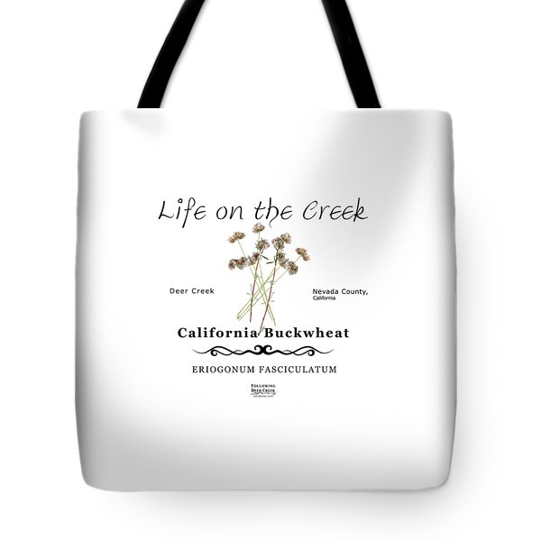 California Buckwheat Tote Bag