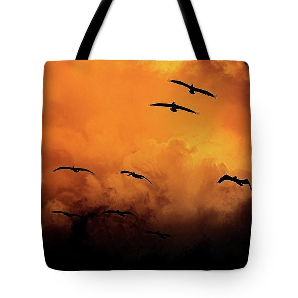 California Exodus Tote Bag