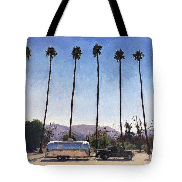 California Honeymoon Tote Bag
