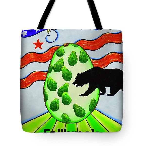 Tote Bag featuring the painting California's Finest by Mary Scott
