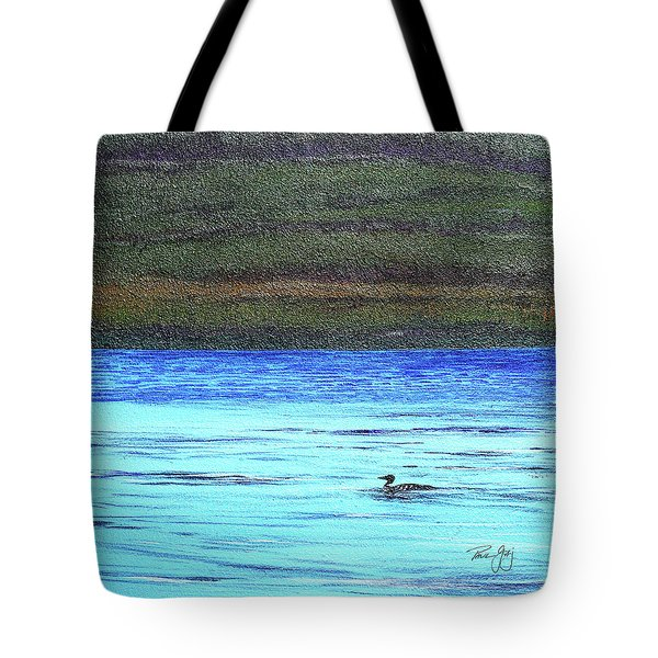 Call Of The Loon Tote Bag
