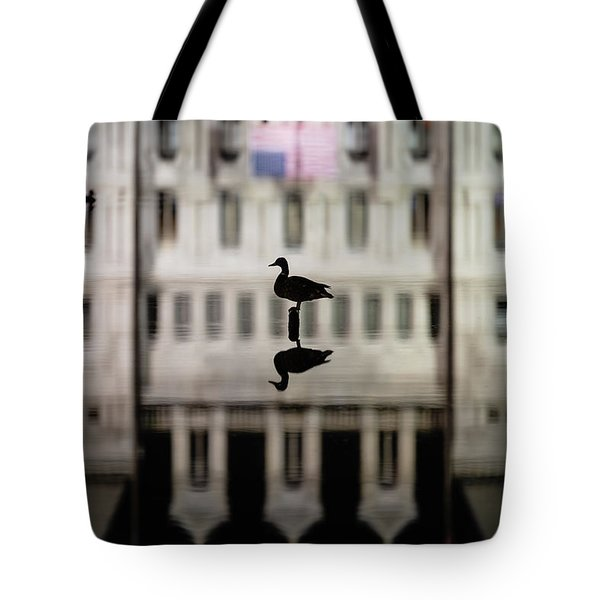 Tote Bag featuring the photograph Calm Before The Storm by Brad Wenskoski
