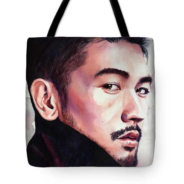 Tote Bag featuring the painting Calm Confidence by Michal Madison
