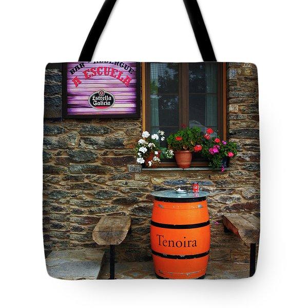 Camino Pilgrim's Repast Tote Bag