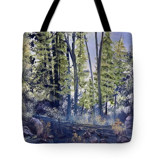 Camp Trail Tote Bag