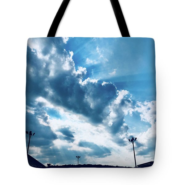 Camping Bliss Tote Bag
