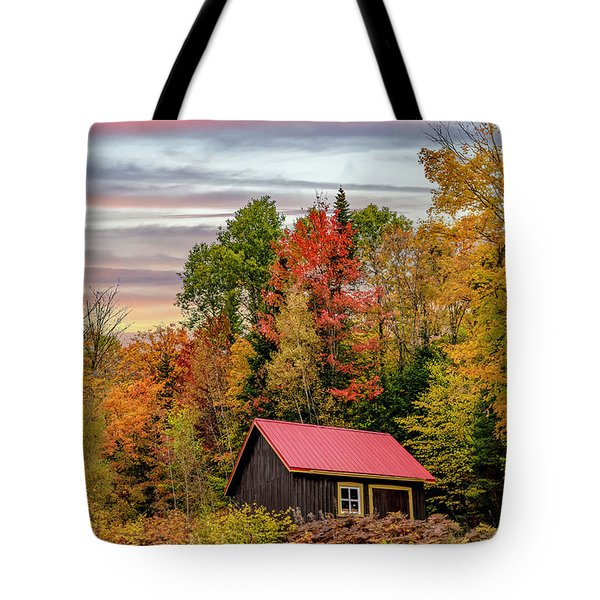 Canadian Autumn Tote Bag
