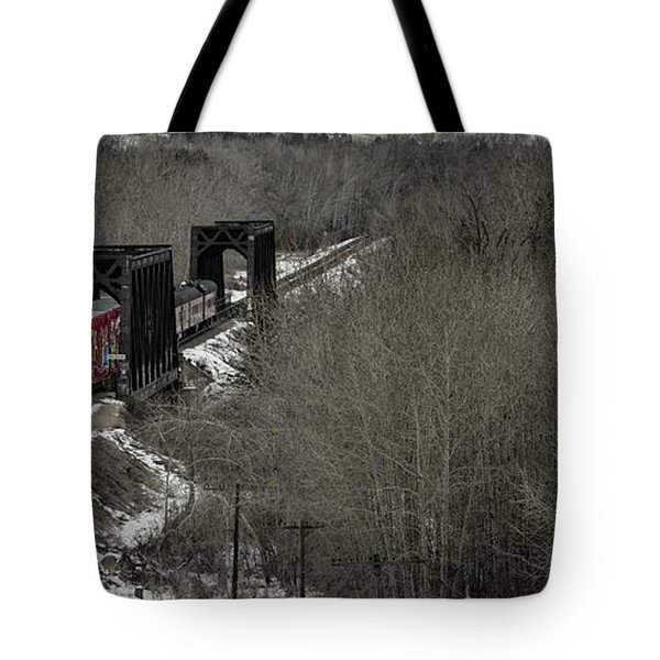 Canadian Pacific Holiday Train 2018 I Tote Bag