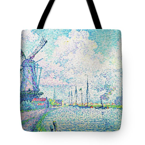 Canal Of Overschie - Digital Remastered Edition Tote Bag