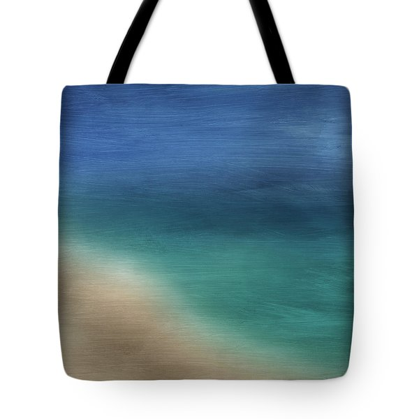 Cancun Coast- Art By Linda Woods Tote Bag