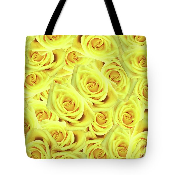 Candlelight Roses Tote Bag