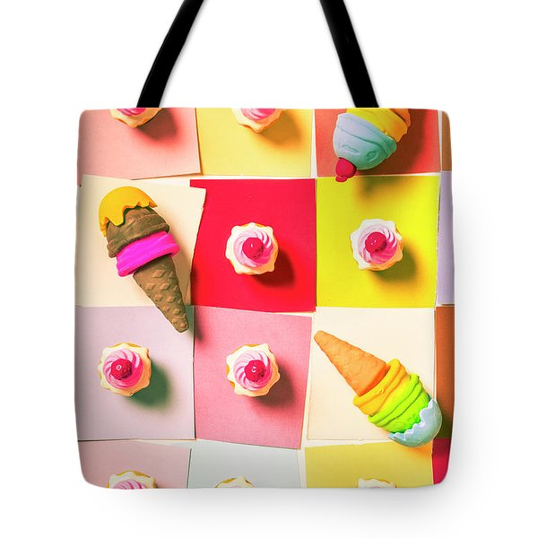 Candy Calendar Tote Bag