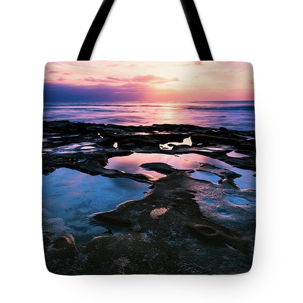 Tote Bag featuring the photograph Candy Colored Pools by Jason Roberts