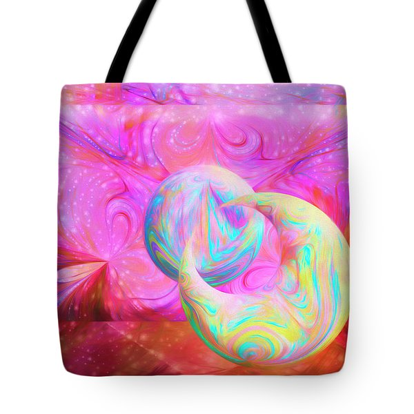 Candy Universe Tote Bag