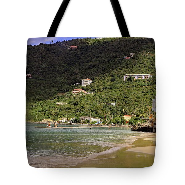 Tote Bag featuring the photograph Cane Garden Bay by Tony Murtagh