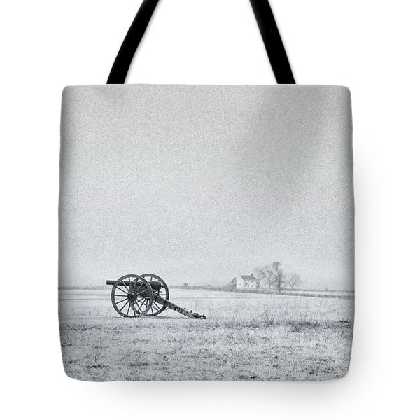 Cannon Out In The Field Tote Bag