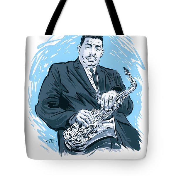 Cannonball Adderley  - By Paul Cemmick Tote Bag