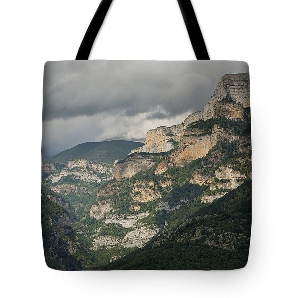 Tote Bag featuring the photograph Canyon Anisclo by Stephen Taylor