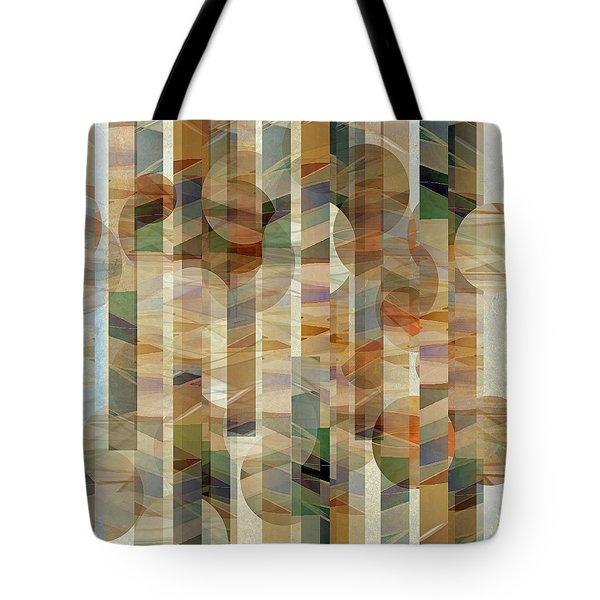 Canyon Circles And Stripes Tote Bag