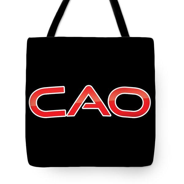 Cao Tote Bag