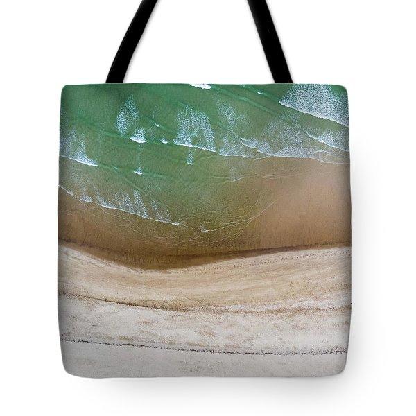 Cape Cod Beach Abstract Tote Bag