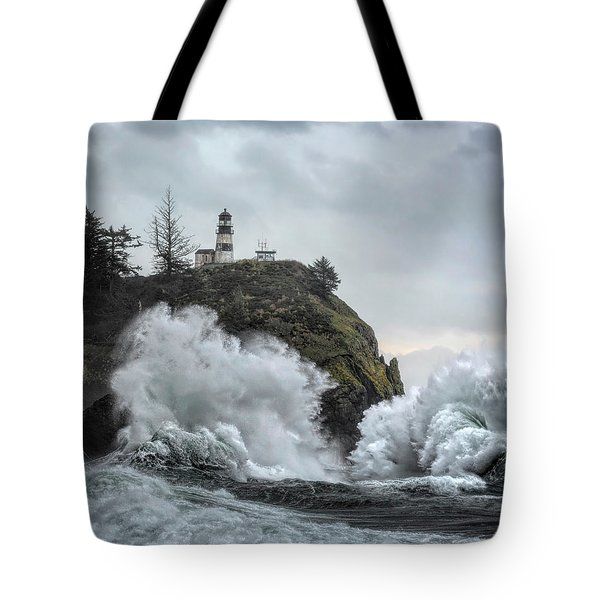 Cape Disappointment Chaos Tote Bag