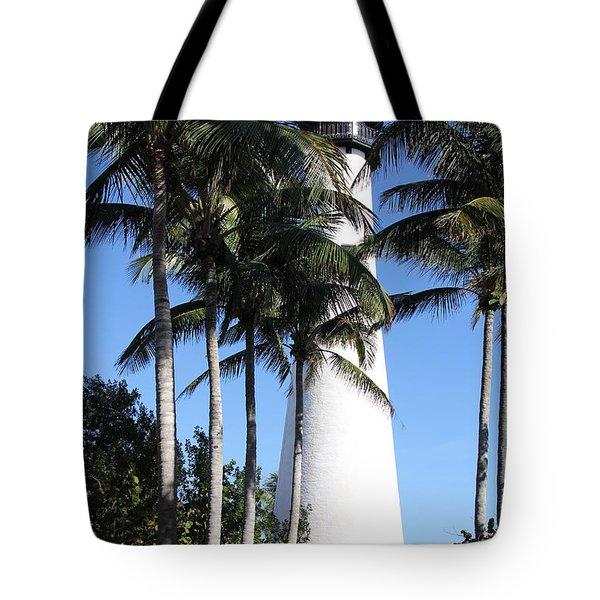 Cape Florida Lighthouse - Key Biscayne, Miami Tote Bag