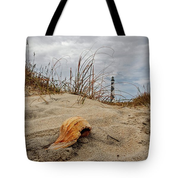 Cape Lookout Lighthouse Tote Bag