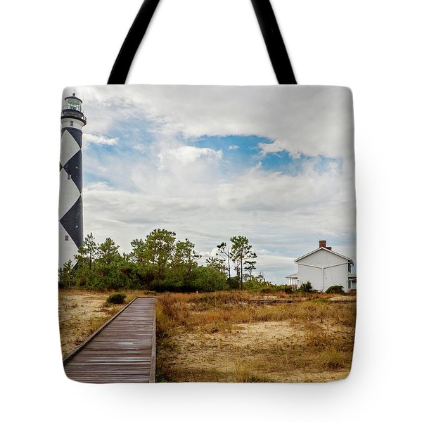 Cape Lookout Lighthouse No. 2 Tote Bag