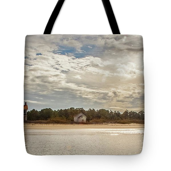 Cape Lookout Lighthouse No. 3 Tote Bag
