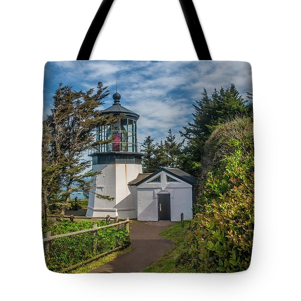 Tote Bag featuring the photograph Cape Mereas Lighthouse by Matthew Irvin
