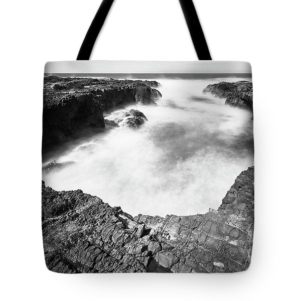 Tote Bag featuring the photograph Cape Perpetua by Whitney Goodey