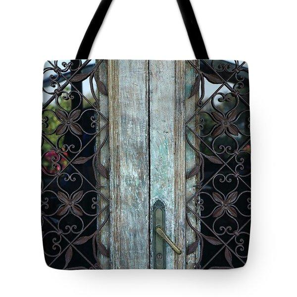 Capri Door Tote Bag