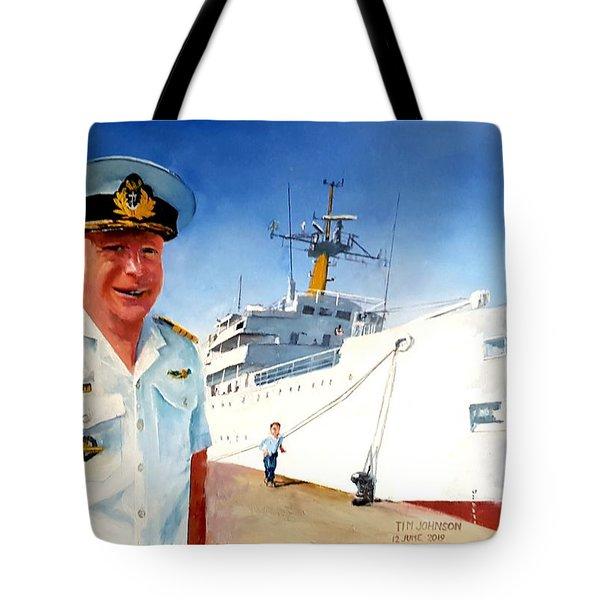 Capt Glen Hallett Tote Bag