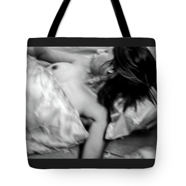 Tote Bag featuring the photograph Captured As She Tries To Escape by Jeremy Holton