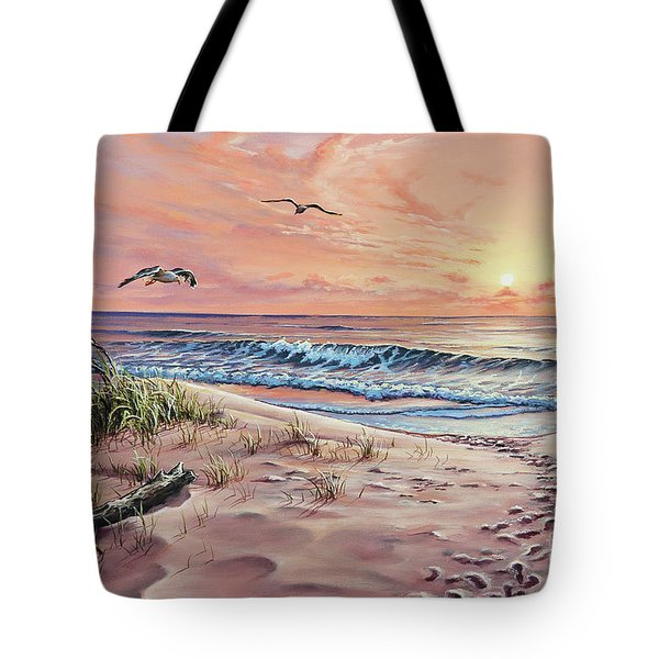 Captured In The Morning Light Tote Bag