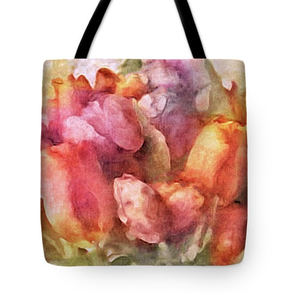 Captured Spring Tote Bag