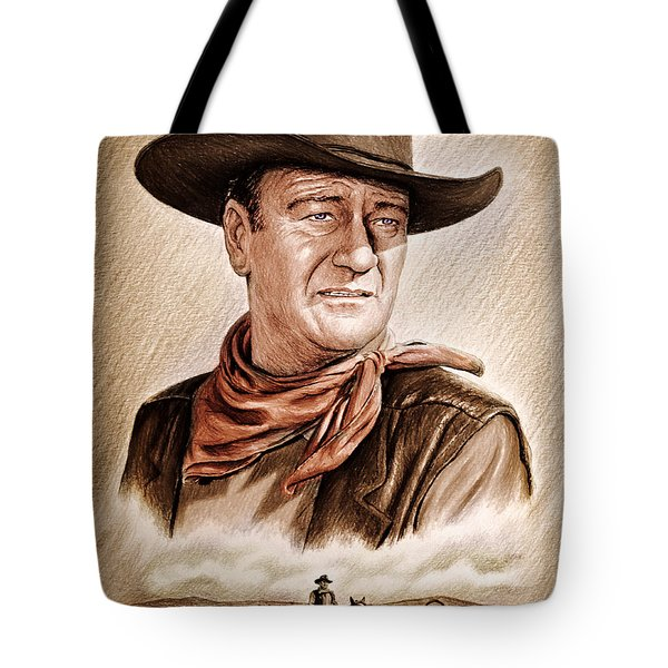 Captured Wild West Edit 2 Tote Bag