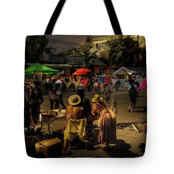 Tote Bag featuring the photograph Car-free Day No. 2 by Juan Contreras