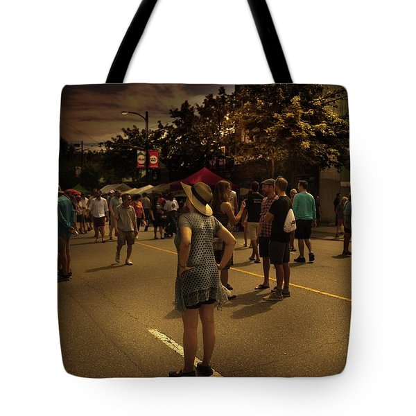 Tote Bag featuring the photograph Car-free Day No. 7 by Juan Contreras
