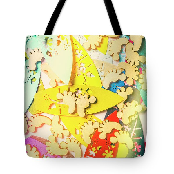 Card Boarding Tote Bag