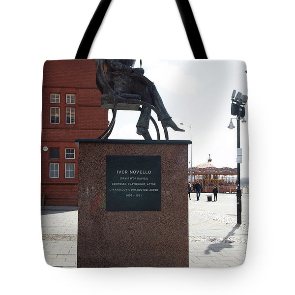 Cardiff Photo 9 Tote Bag