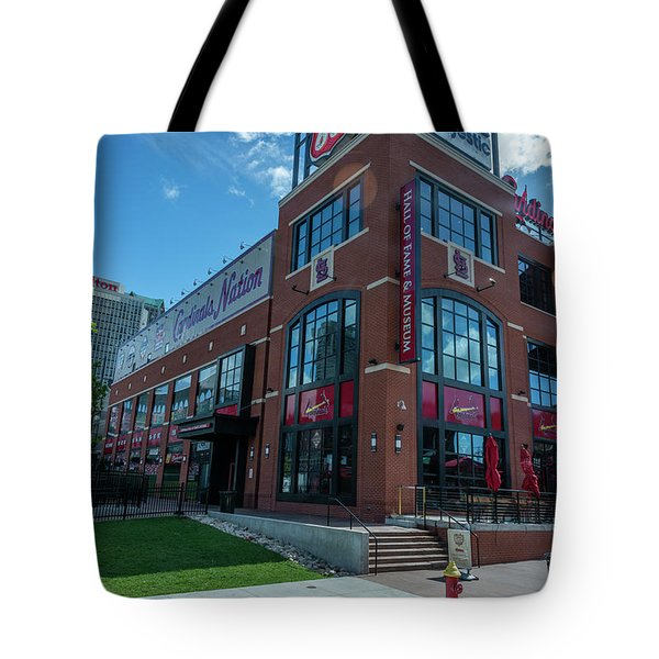 Cardinals Hall Of Fame Tote Bag
