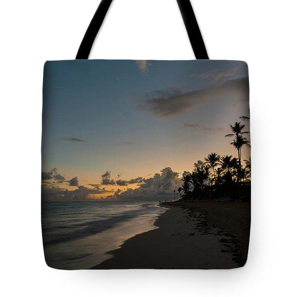 Caribbean Rise Tote Bag