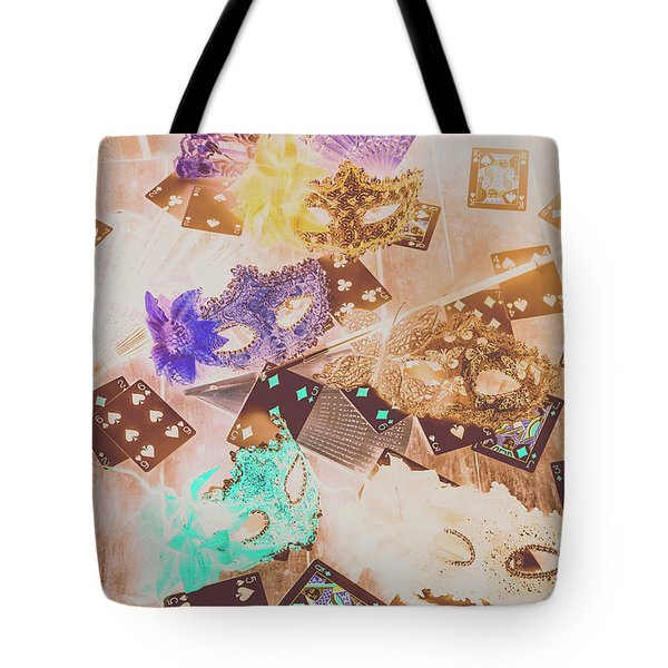 Carnival Of Cards Tote Bag