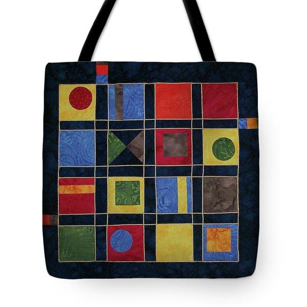 Carnival Of Colors Tote Bag