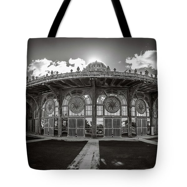 Tote Bag featuring the photograph Carousel House by Steve Stanger