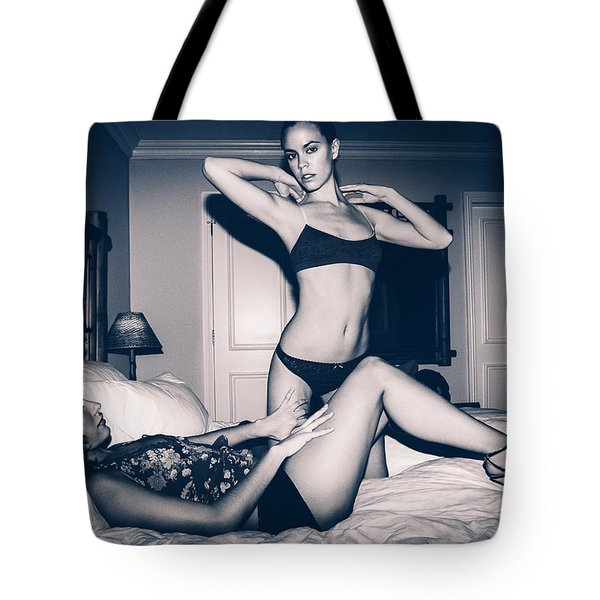 Carpe Diem - The Night After - Erotica Tote Bag
